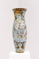 The Golden Cock Vase