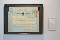 THE VERTOV TELEGRAM OF 1919