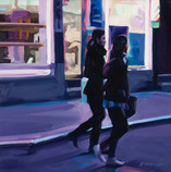 Two Young Women, Chinatown