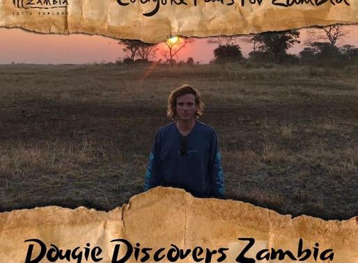 McFly's Dougie Poynter lands in Zambia