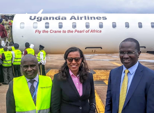 Fly the Crane to the Pearl of Africa