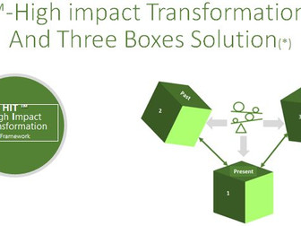 Speed Up Decision-Making While Succeed In Transformation-The Three Boxes Solution