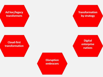 5 Digital transformation types