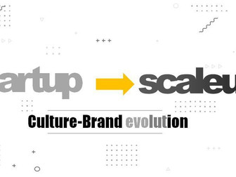 Branding and culture for start-ups and scaleups: an announced dilemma.