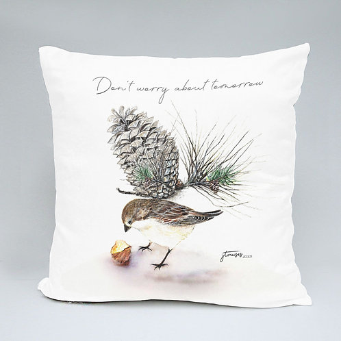 40 x 40 cm throw cushion and cover - The Wings Collection - sparroe