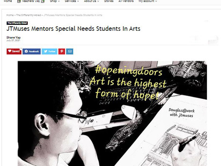 jtmuses Mentors Special Needs Students In Arts