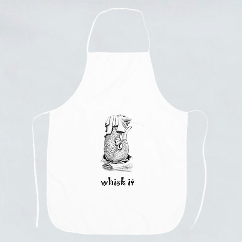 TMP-Merlion Fun - Whisk it! apron