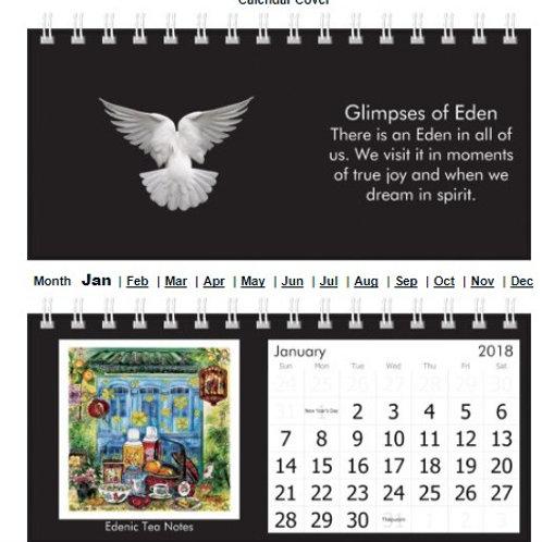 Desktop Calendar - customise a new memory each month.