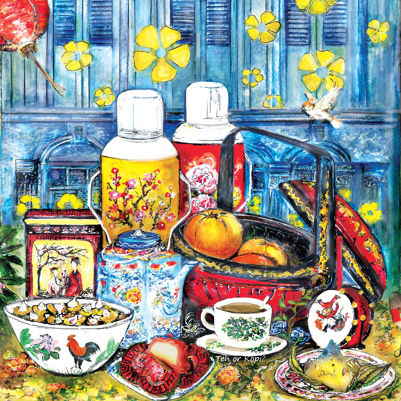 Coaster 1- Edenic Tea Notes