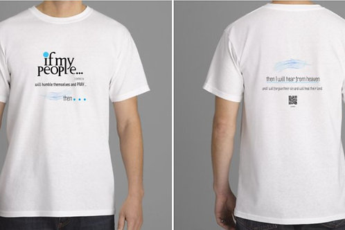 IF MY PEOPLE signature soft Men's cotton tee shirt 1