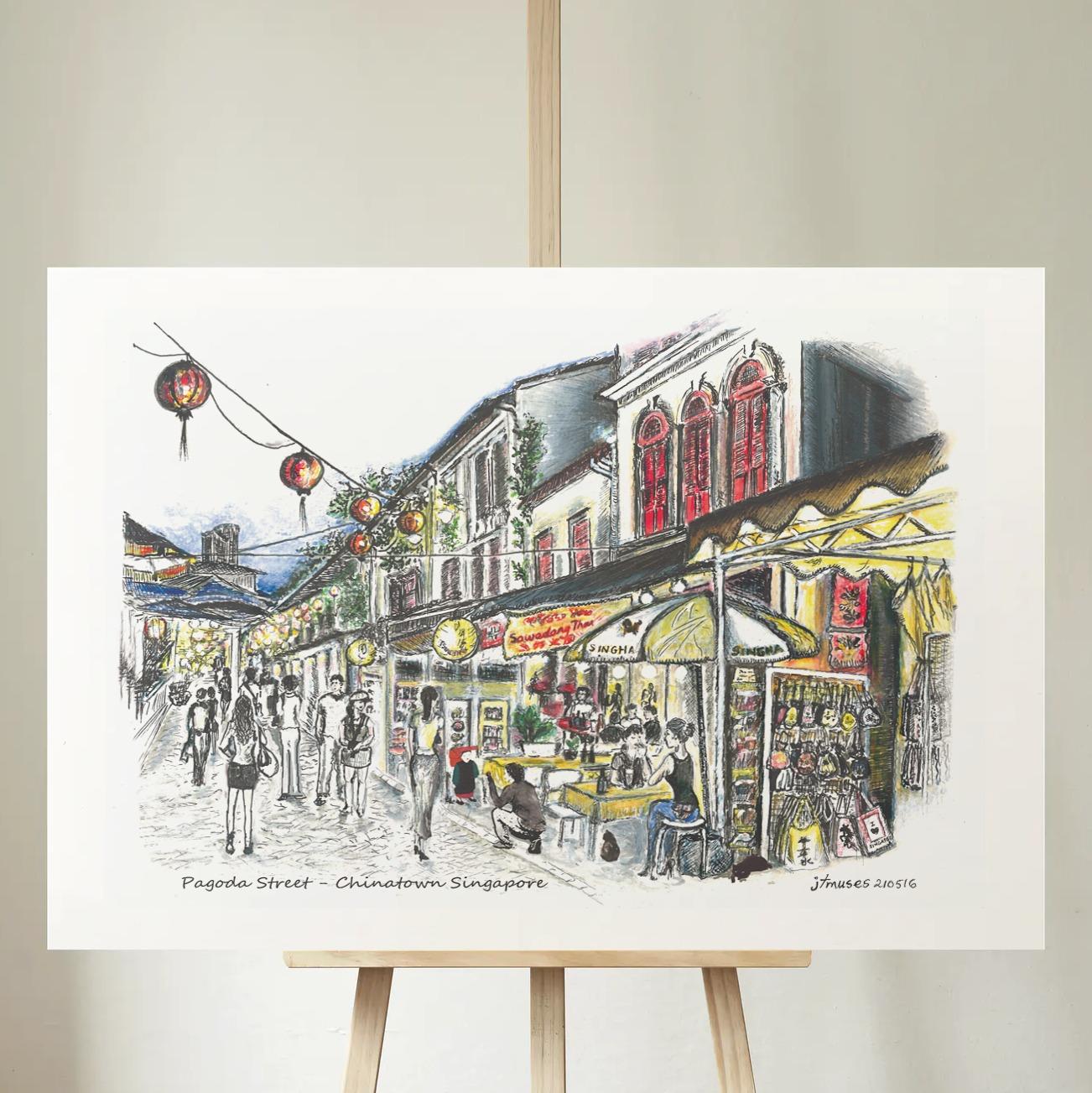 Paoda Street - Chinatown