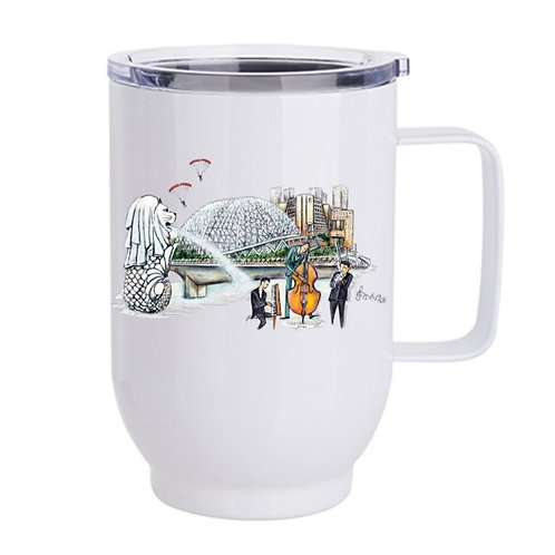 Travel Tumbler (stainless steel)-Playgrounds - 500 ml