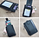Thumbnail: Staff pass Leather Card Holder and Wallet with RFID- with lanyard