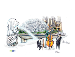Esplanading at Singapore Theatres by the