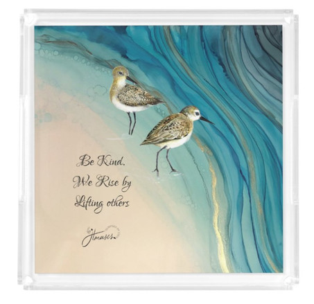 square acrylic tray -sandpipers1.jpg
