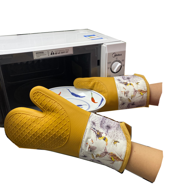 silicon oven mitts - 14 april