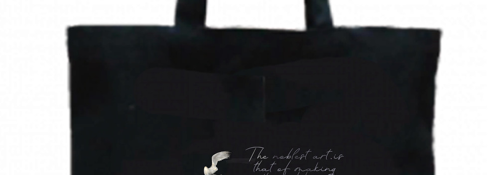 black cotton tote bag - playgrounds.jpg