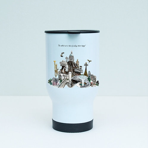 Travel Tumbler (stainless steel)-Playgrounds