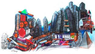 Future Cityscape by DAA