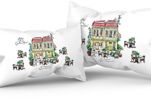 45 x 30 or 50 x 30 cm throw cushion/cover - quintessential shophouse by DAA