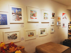 Exhibits at Chinatown Heritage Ctre