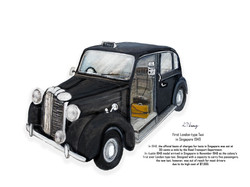1940s-the first London-type taxi