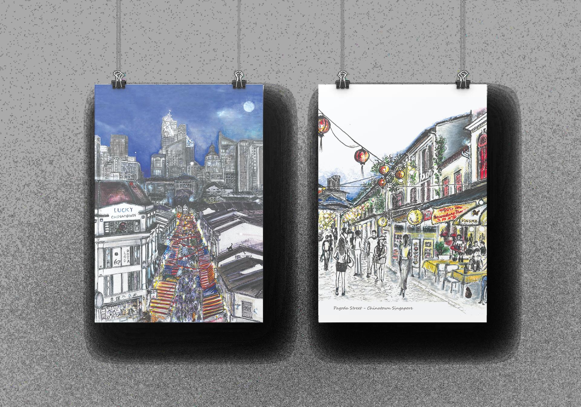 Streetwalking Lucky Chinatown