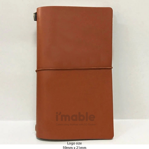 Notebook softcover Journal - PU Leather ( Real leather avails)