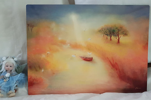 Table Placemats A3 size - May God's light shine on your life