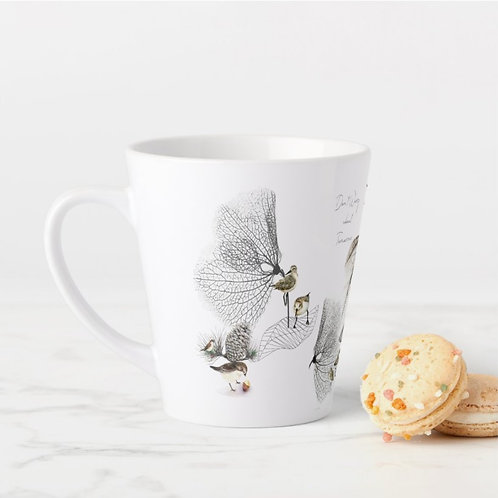 The Wings Collection small Latte Mug- email for order