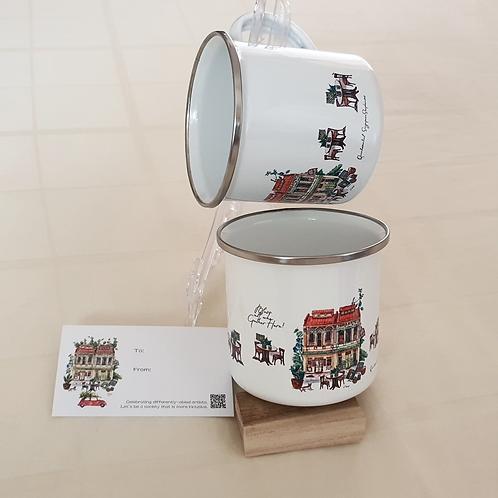 TMP Enamel Mug Shophouse-set of 2