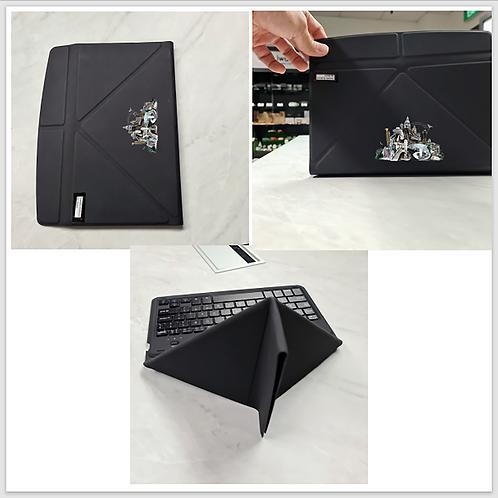 World's 1st Leather Foldable Wireless Keyboard