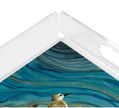 square acrylic tray -sandpipers2.jpg