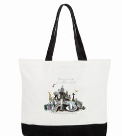 tote bag playgrounds 47 by 38 by 12 inch
