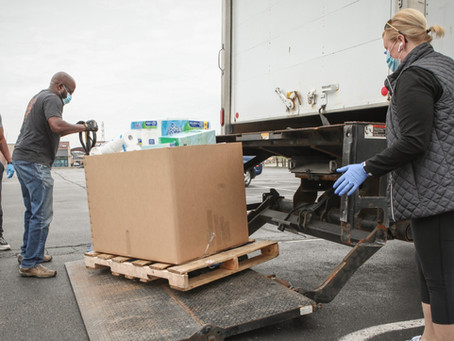 7,500 Emergency Food Boxes Delivered to Seniors in Need