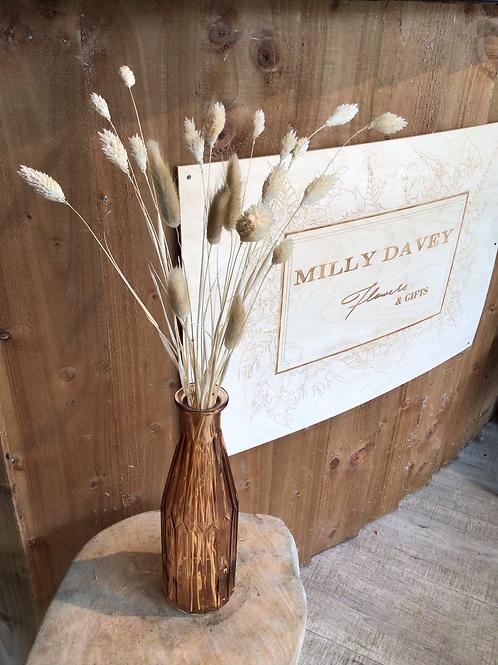 Canary Grass Vase
