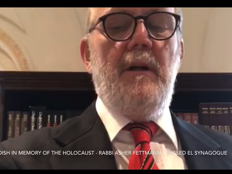 A Kaddish for the Martyrs of the Holocaust - by Rabbi Asher Fettmann