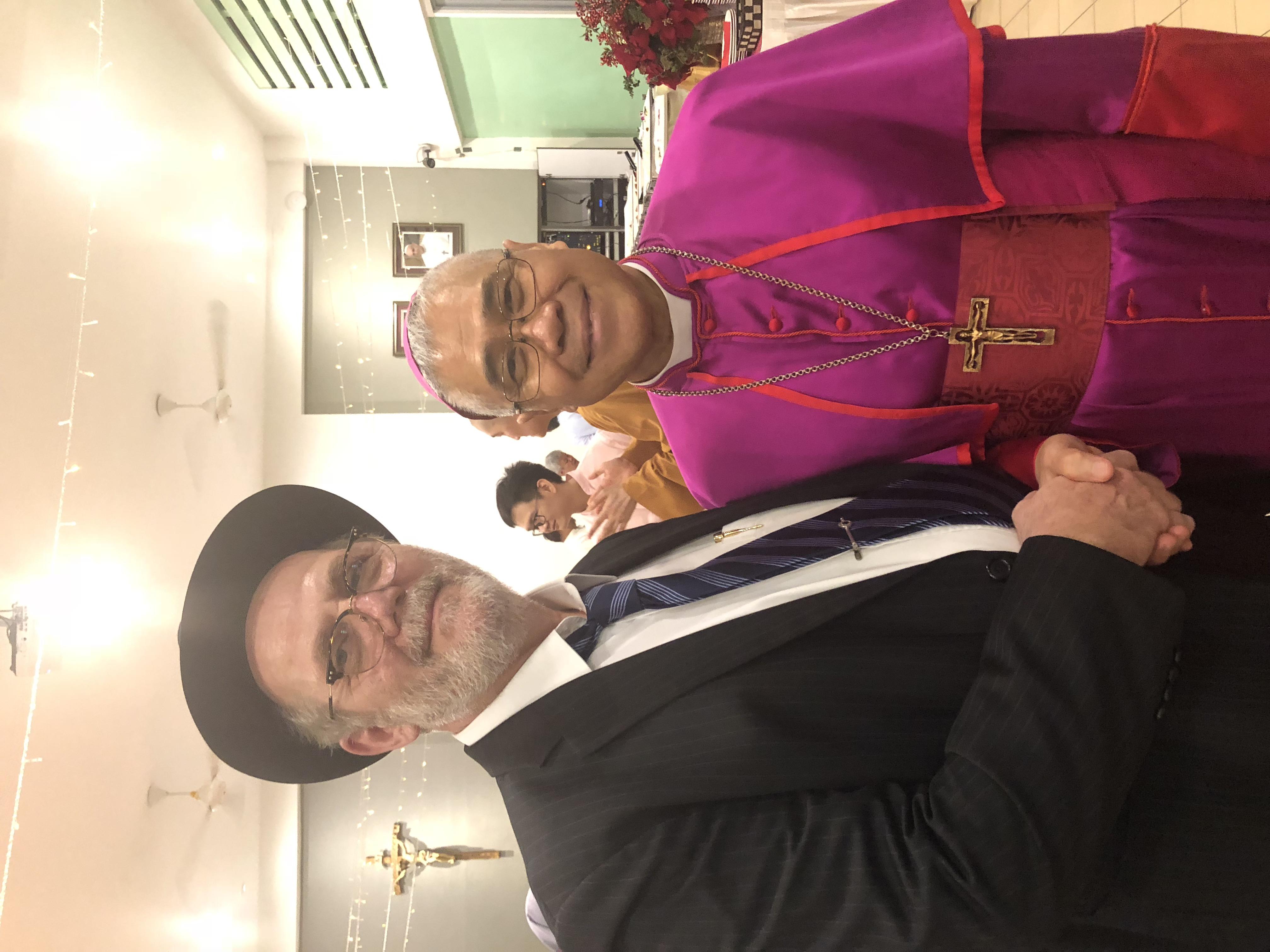 His Grace Archbishop William Goh, Archbishop of Singapore