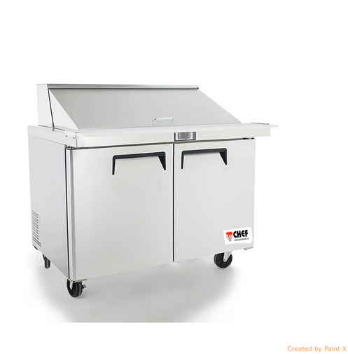 Chef 48 Mega Top Sandwich Prep Table