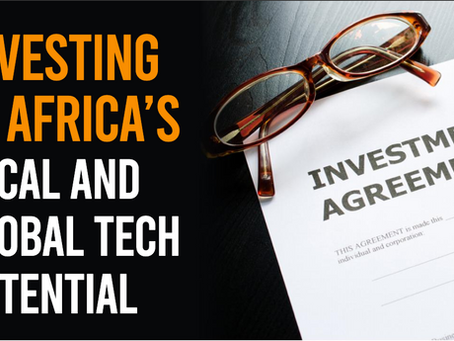 In the News - Investing in Africa's Tech Potential