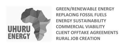 Uhuru Energy, Large scale biomass-to-energy pioneer, mandates HAVAIC