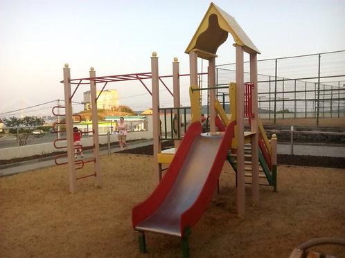 Детский парковый игровой комплекс Избушка