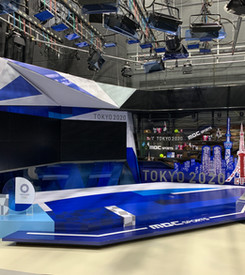 Tokyo Olympics Set Design