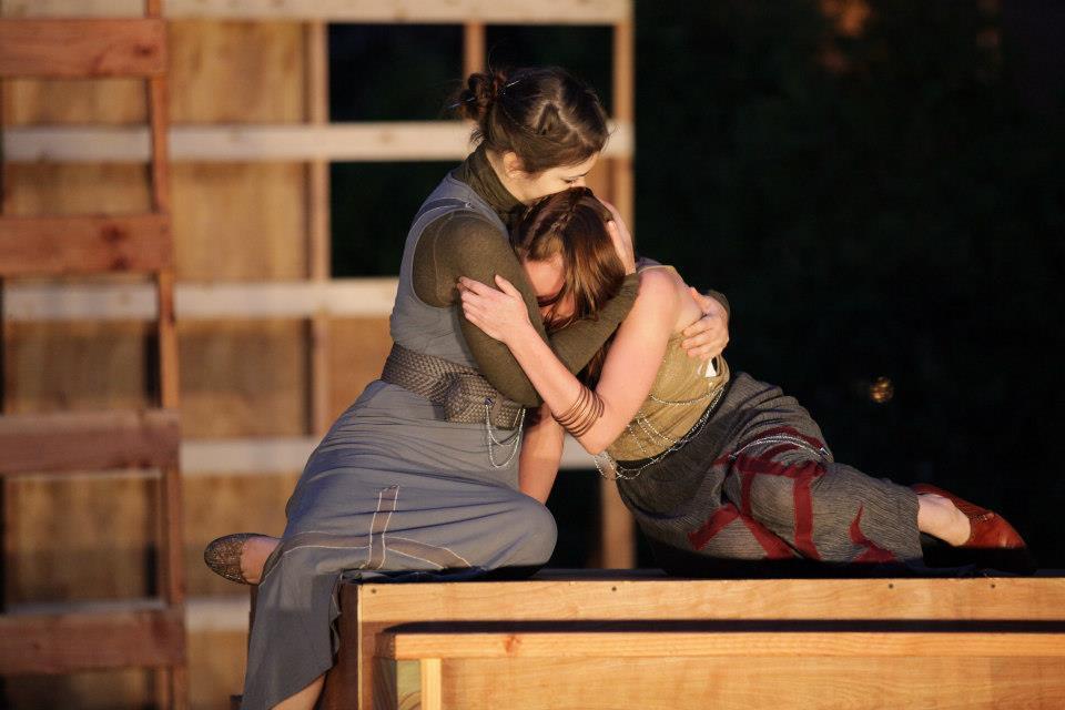 As The Nurse, Comforting Juliet
