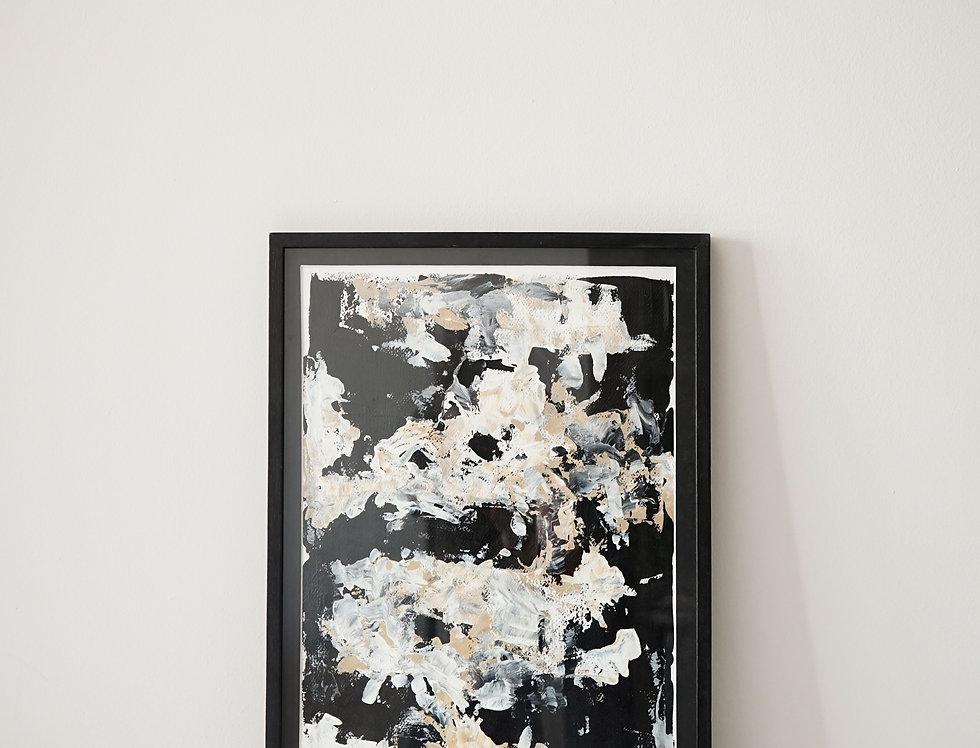 Cuadro Black Abstract 03