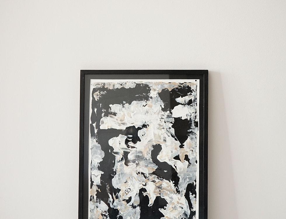Cuadro Black Abstract 05