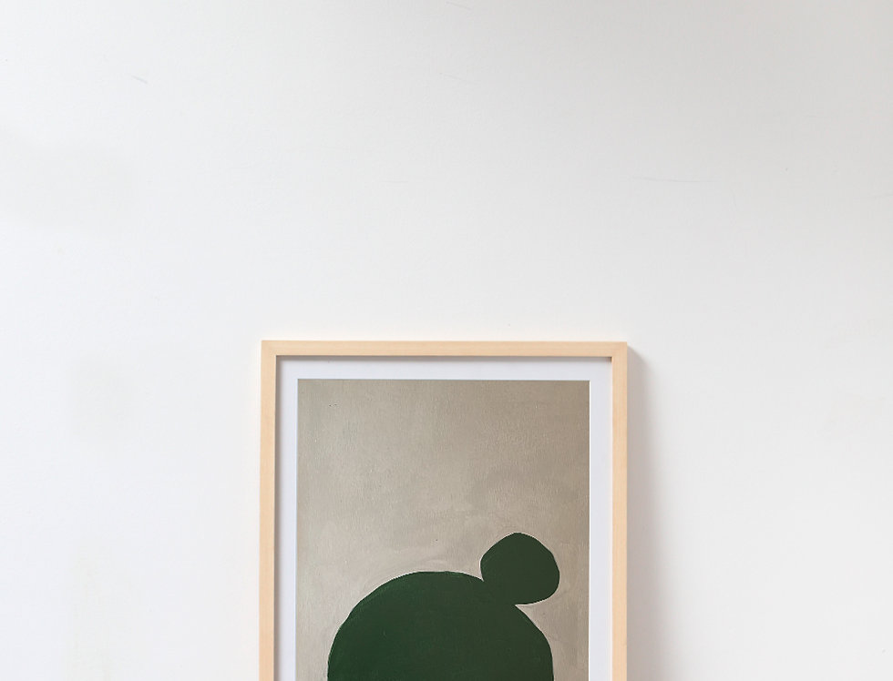 Cuadro Deep Green 1