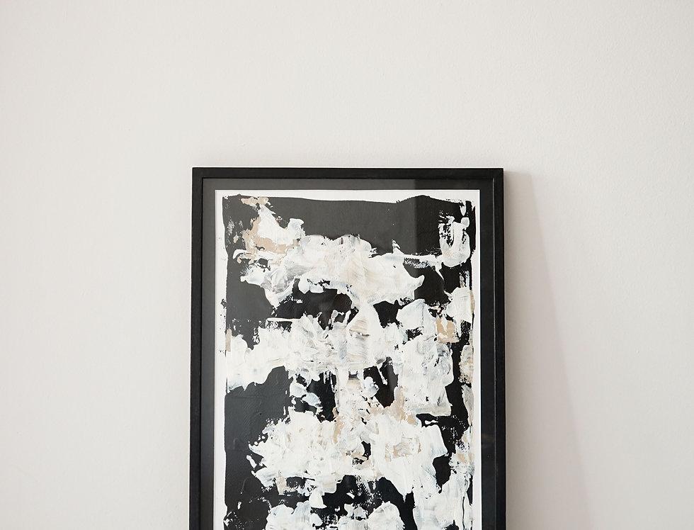 Cuadro Black Abstract 04