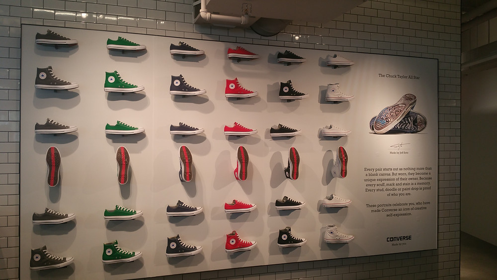 Converse Flagship Store Visual Merchandising