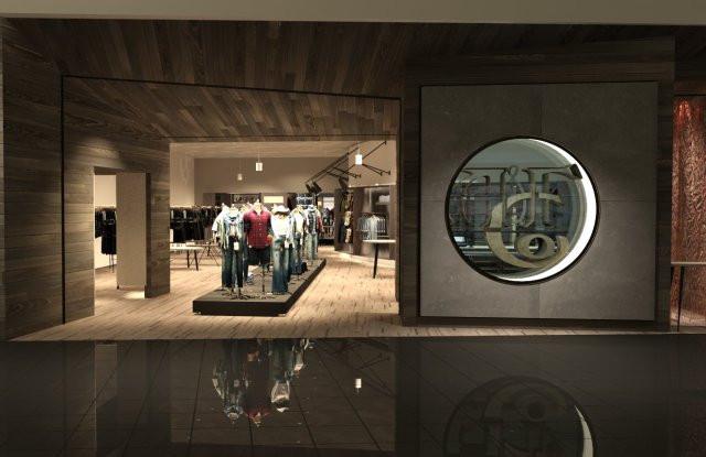 Abercrombie & Fitch new store prototype.